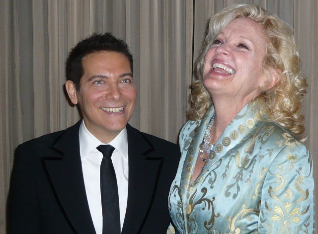 Michael Feinstein and Christine Ebersole Photo by Gacin1