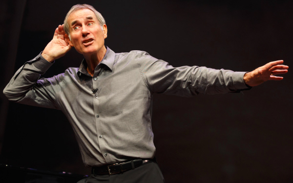 Just Jim Dale Laura Pels Theatre
