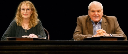 Love Letters Brian Dennehy and Mia Farrow 2 photo by Carol Rosegg