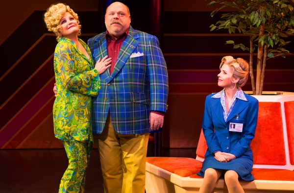 DISASTER! 3 6525_Faith Prince, Kevin Chamberlin, Kerry Butler, photo by Jeremy Daniel Photography, 2016